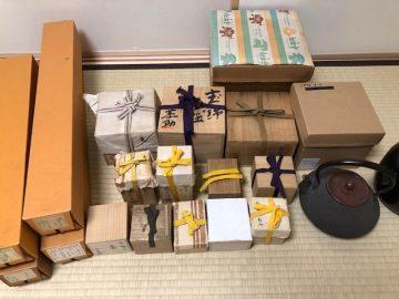 お茶道具の買取をいたしました - 横浜市