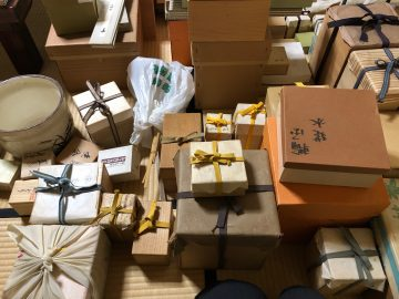 茶道具の一括整理いたしました - 表千家の茶道具の買取