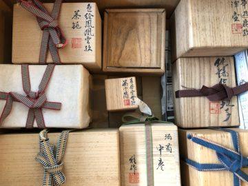 秦蔵六作 錫茶托、茶壺ほか - 煎茶器の買取